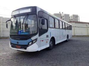 Parabrisa Ônibus Caio Apache 1980 Dianteiro Direito